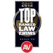 2013 Top Ranked Law Firms